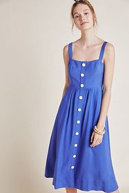 Anthropologie Rosemary Midi Dress