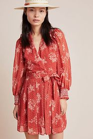 Anthropologie Prato Belted Dress
