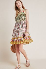 Anthropologie Ananya Tunic Dress