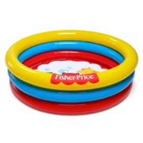 "Fisher Price 36"" x Н10"" 3-Ring Ball Pit Play Pool"