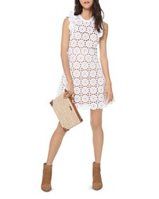 MICHAEL Michael Kors - Medallion Lace Mini Dress