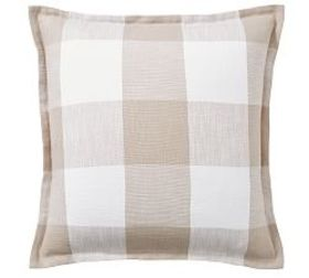 Pottery Barn Bryce Buffalo Check Sham