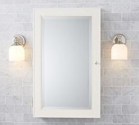 Pottery Barn Classic Wall-Mounted Medicine Cabinet