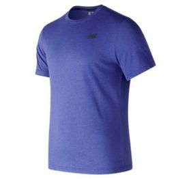 New balance Men's Heather Tech Short Sleeve
