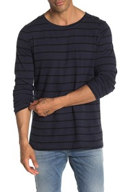 Nudie Jeans Ovar Striped Long Sleeve Shirt
