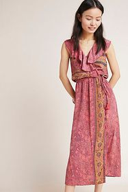Anthropologie Passion Petite Wrap Dress