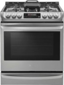 LG - 6.3 Cu. Ft. Self-Cleaning Slide-In Gas with P