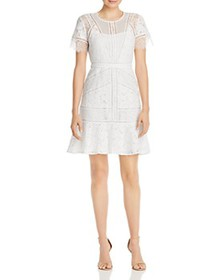 FRENCH CONNECTION - Chante Lace Mini Dress