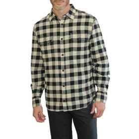 Mountain and Isles Check Flannel Shirt - Long Slee