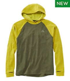 LL Bean Men's Adventure Grid Fleece Hoodie