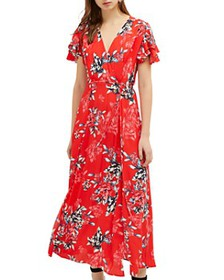 FRENCH CONNECTION - Coletta Floral-Print Maxi Wrap