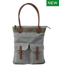 LL Bean Waxed Canvas Tote