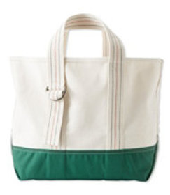 LL Bean Signature Made in Maine Tote