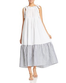 Weekend Max Mara - Utopico Ruffled Cotton Maxi Dre