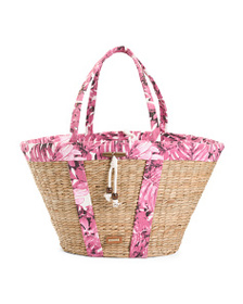 SUN N SAND Seagrass Hand Made Shoulder Tote
