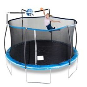 Bounce Pro 15-Foot Trampoline, with Enclosure and