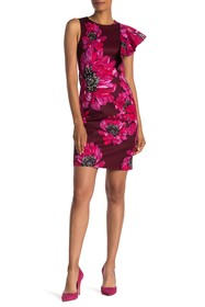 Trina Turk Julieta Floral Print Dress