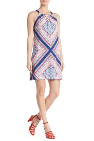Trina Turk Rancho Pattern Print Dress