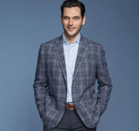 Johnston Murphy Italian Plaid Blazer