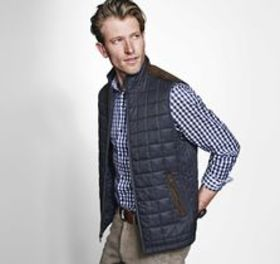 Johnston Murphy Quilted Vest