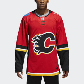 Adidas Flames Home Authentic Pro Jersey