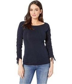 LAUREN Ralph Lauren Tie-Sleeve Cotton Top