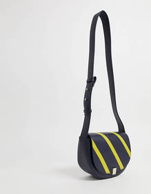 French Connection Claudia bloc stripe handbag