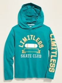 Graphic Pullover Tee Hoodie for Boys