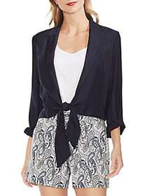 Vince Camuto Mystic Blooms Open-Front Jacket CLASS