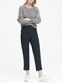 Petite Hayden Tapered-Fit Pull-On Ankle Pant