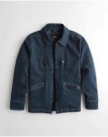 Hollister Utility Jacket, NAVY