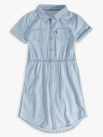 Levi's Big Girls Short Sleeve Western Dress