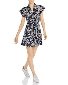 FRENCH CONNECTION - Rishiri Floral-Print Jersey Mi