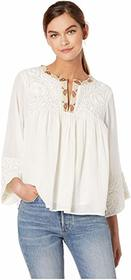 Frye Embroidered Blouse
