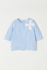 Jersey Top with Bow