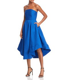 C/MEO Collective - Making Waves Strapless Dress -