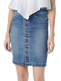Joe's Jeans Classic Denim Pencil Skirt KERRIGAN