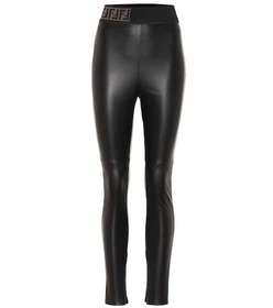 Fendi Leather pants