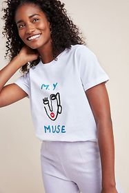 Anthropologie My Muse Graphic Tee
