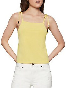 BCBGeneration Shoulder-Tie Stretch Camisole YELLOW