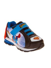 Superman Toddler Boy's Athletic Sneaker With Cape