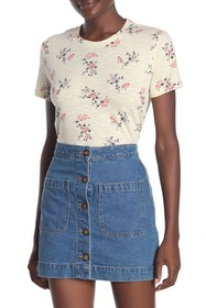 Lucky Brand All Over Floral Tee
