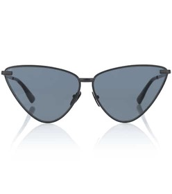 Le Specs Luxe Nero cat-eye sunglasses