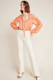 Anthropologie The Essential Pintucked Pants