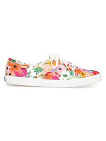 Keds Champion Floral Canvas Sneakers CREAM MULTI