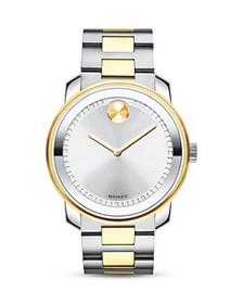 Movado - Two Tone Watch, 42.5mm
