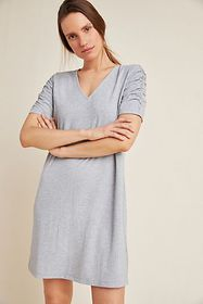 Anthropologie Everywhere Ribbed Dress
