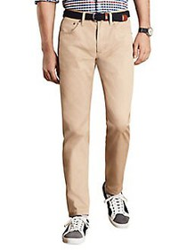 Brooks Brothers Red Fleece Classic Cotton Pants KH