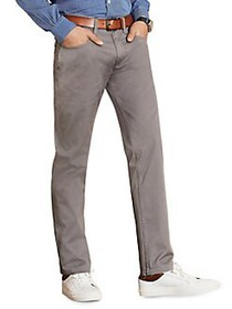 Brooks Brothers Red Fleece Classic Cotton Pants SL