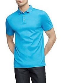 Calvin Klein Liquid Touch Polo BLUE